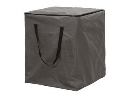 Schutzhülle für 6-8 Lounge Kissen, 75x75x90cm, Hülle Gartenpolster Auflagen