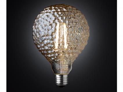 FILAMENT LED Leuchtmittel Wellen-Struktur 4 Watt, 300 Lumen, 1800 Kelvin, E27 - Vorschau 3