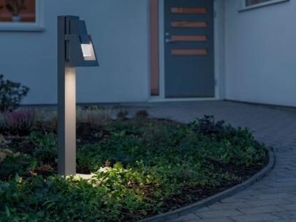 Sockelleuchte POTENZA Wegeleuchte, 350Lm, austauschbares LED Modul