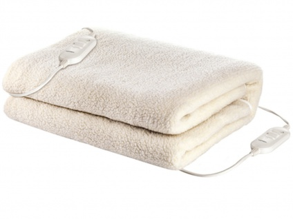 Wellness-Set: Warme 2 Personen Heizdecke aus Wolle + US-Duftzerstäuber + 4 Öle - Vorschau 3