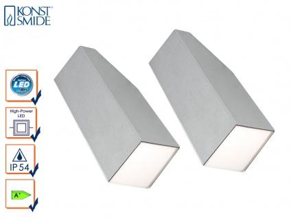2er-Set Design Außenwandleuchte IMOLA, 3 Watt High-Power-LED, IP54 - Vorschau 1
