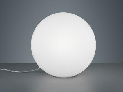 LED Tischleuchte Opalglas Kugellampen für Fensterbank Esszimmer Flur Nachttisch