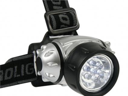 Set: LED Stirnlampen Kopflampe extra hell, Wandern Trekking Camping Outdoor Jagd - Vorschau 3