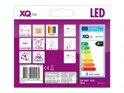 2er-Set FILAMENT-LED E14, 2 Watt, 200 Lumen, 2700 Kelvin, warmweiß - Vorschau 4