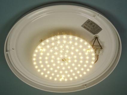 Korridorleuchte LED Esszimmerlampe LED Leuchte rund Ø35cm Dekorring Chrom - Vorschau 3