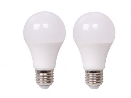 2er Set LED Leuchtmittel 9 Watt, 806 Lumen, 2700 Kelvin, E27-Sockel, dimmbar - Vorschau 2