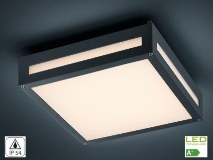 Decken-/Wandleuchte NEWA, Alu anthrazit, inkl. 13, 5 W LED, 1000 Lm