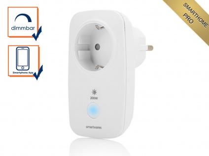 Intelligente Funksteckdose SmartHome Pro Serie, Lampen & Leuchten per App dimmen