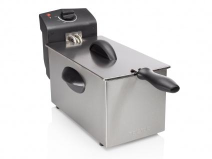 Tristar Edelstahl Fritteuse 2000W, 3 Liter, Kaltzonen Elektro Fritteuse Friteuse - Vorschau 3