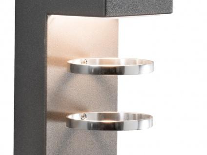 2er-Set Außenwandleuchten ACERRA anthrazit 5 Watt LED 400 Lumen IP54 - Vorschau 3