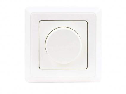 Universal Dimmer für LED Phasenabschnittdimmer zum Unterputz einsetzen