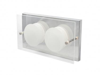 2er Set 2-flammige LED Wandleuchte ENVY, 11, 5 x 22 cm, Wandlampe LED Wandleuchte - Vorschau 3