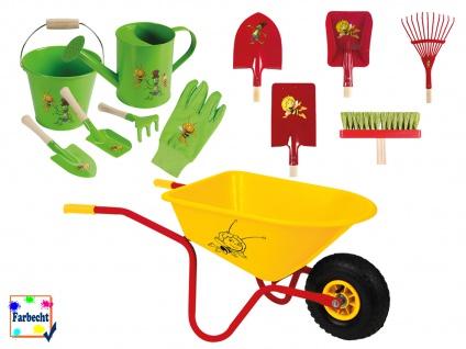 Großes Gartenspielzeug-Set Sandspielzeug -DIE BIENE MAJA-