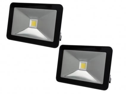 2er Set 30W LED Arbeitsleuchten Flutlicht IP65, Scheinwerfer Fluter Baustrahler - Vorschau 2