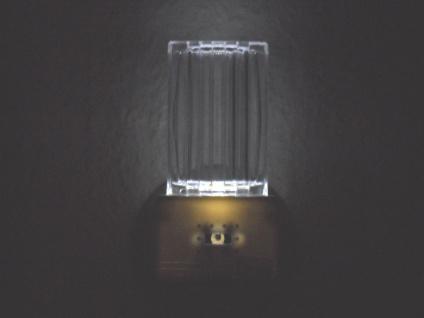 LED Nachtlicht mit Dämmerungsauotmatik, weiß Nachtlampe Kinderzimmer *NEU* - Vorschau 4