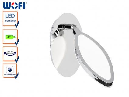 LED Wandleuchte CHARLIZE, schwenkbar, Schalter, Wandleuchten Wandlampen Spot