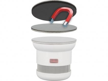 Befestigungs-Set Universal-Magnetmontageplatte Magnet Ø 5cm für Rauchmelder