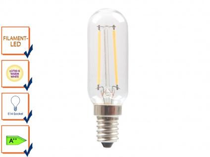 FILAMENT-LED E14, 2 Watt, 200 Lumen, 2700 Kelvin, warmweiß Leuchtmittel