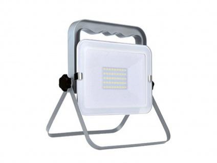 Klappbarer Baustrahler LED Fluter Arbeitsscheinwerfer 30W mit 1, 8m Kabel