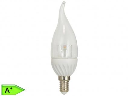 LED Leuchtmittel Flamme 4W warmweiß, 320 Lm, E14, nicht dimmbar, XQ-lite