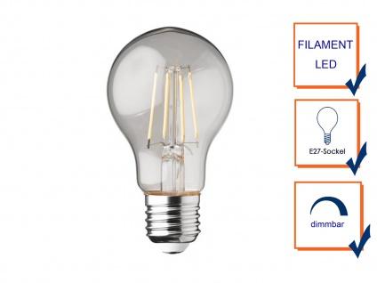 Filament LED dimmbar E27 Leuchtmittel Glühlampe Klares Glas 4W 350lm 2700K - Vorschau 3