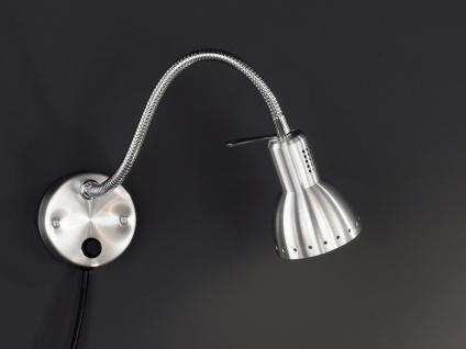 Wandleuchte, verstellbar, Chrom, aluminium, Honsel-Leuchten, PITTSBURGH