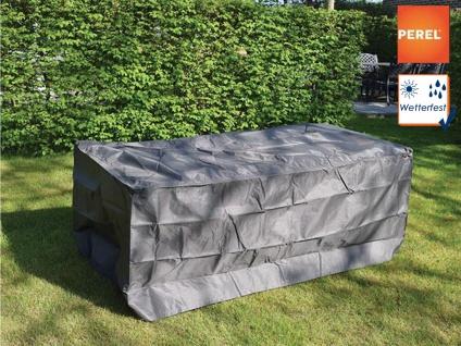 Gartenmöbel Abdeckung / Schutzhülle für Gartentisch max. 180cm, Plane wetterfest