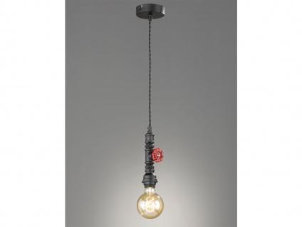 Retro Pendelleuchte Industrial Style, Design Hängelampe Steampunk, Küchenlampe