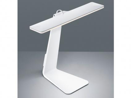 LED Schreibtischlampe HEROLD in Weiß Akku Betrieb & USB Anschluß Touch Dimmer