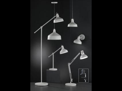 LED Schreibtischlampe Klemmleuchte grau, Leselampe Büro Schreibtisch Wohnraum - Vorschau 2
