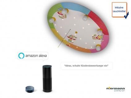 LED Kinderzimmerlampe Decke Rainbow Rabbit Schlummerlicht Amazon Echo kompatibel