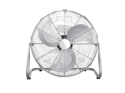 Ventilator mit Schutzgitter, 3 Rotorblätter, Schalter & 3 Geschwindigkeitsstufen