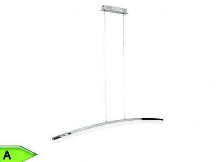 Dimmbare LED-Pendelleuchte in Chrom, 120 cm, Wofi-Leuchten