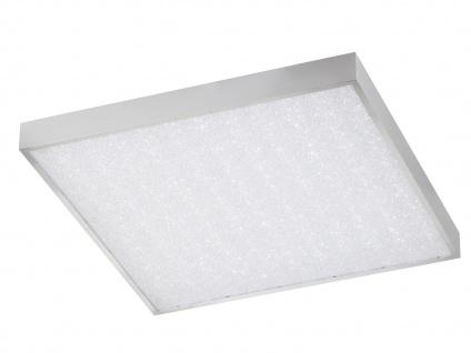 Deckenleuchte LED Panel quadratisch dimmbar Farbwechsel Timer Fernbedienung