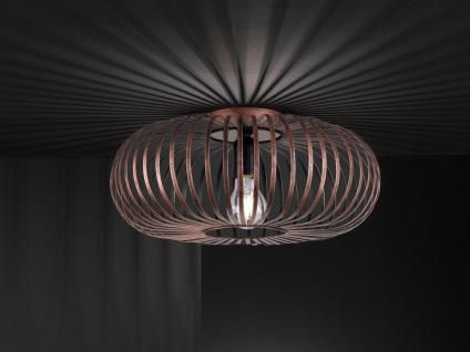 Moderne Metallgitter Deckenleuchte mit LED - Wohnzimmerlampe ...
