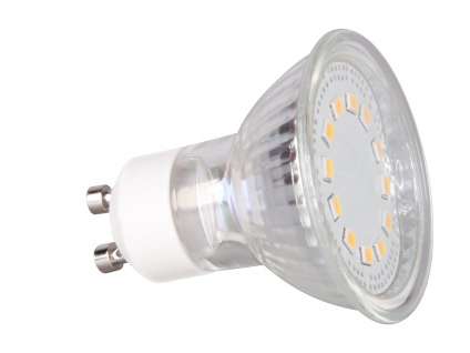 5er-Set LED-Leuchtmittel Reflektor 3Watt, 6500 Kelvin, 230 Lumen, GU10 XQ1409 - Vorschau 4