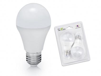 LED Leuchtmittel 10Watt für E27 Fassung 806 Lumen 3000 Kelvin warmweiß Ø6cm, A++