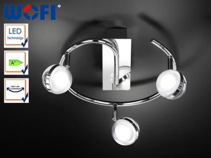 LED Deckenstrahler Retro 30 cm, Spots schwenkbar, Wofi-Leuchten