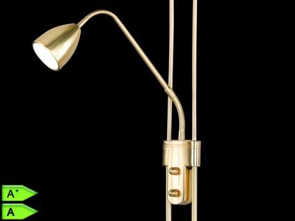 LED-Fluter, ink. COB-LEDs, Höhe 180cm, Doppeldimmer, Messing matt - Vorschau 2