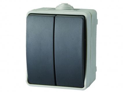Aufputz-Serienschalter Feuchtraumschalter Aufputzschalter, IP54