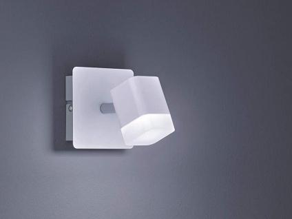 Kleiner LED Wandstrahler 1 flammig Weiß matt 10x10xcm - Treppenhausbeleuchtung