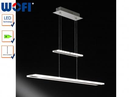 LED Hängelampe höhenverstellbar, 2 Leuchtebenen, Wofi-Leuchten