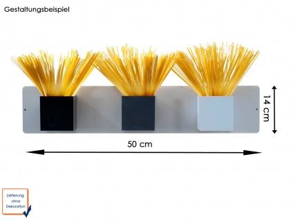 Set aus Magnettafel und 3 Töpfen Würfel Ø 9 cm, Wandaufbewahrung, KalaMitica