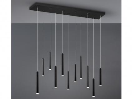 LED Pendelleuchte Schwarz matt mit 3 Stufen Dimmer optimale Beleuchtung Esstisch