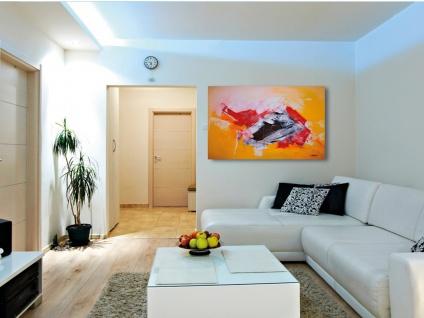 270W Infrarotheizung, 100x32cm, für Räume 5-32m³, bemalbar, IP44 - Vorschau 3