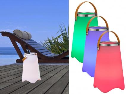 3in1 LED Stehlampe mit Farbwechsel Licht Bluetooth Lautsprecher Musik Sektkühler