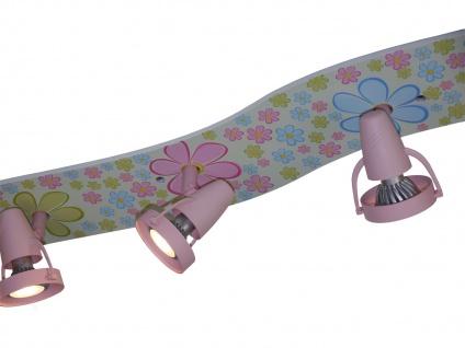 LED Strahlerleiste 115cm 6 Spots schwenkbar Beleuchtung Kinderzimmer Strahler - Vorschau 3