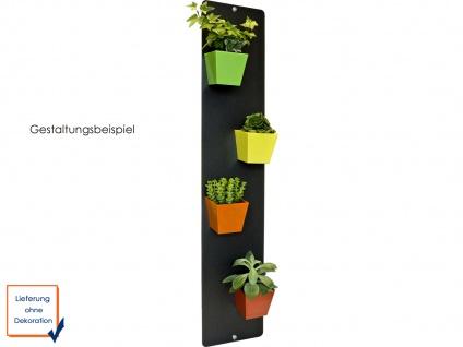 Wandaufbewahrung Wanddeko Memoboard Magnettafel Metall 14 x 70 cm, KalaMitica - Vorschau 3