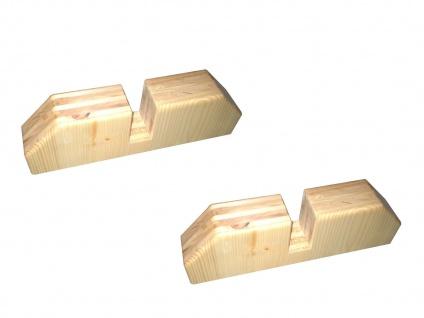 Holzständer für Vitalheizung Heizpaneel und Infrarotheizung victory + premium