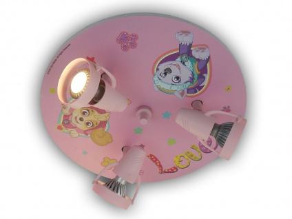 LED Kinderzimmerleuchte Deckenstrahler Jungen Mädchen Kinderdeckenlampen Rosa